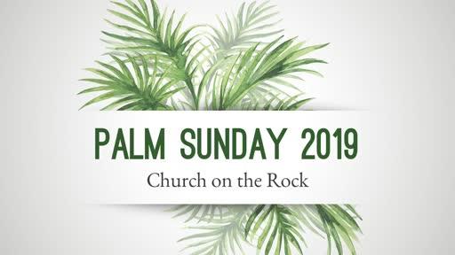 Palm Sunday 2019