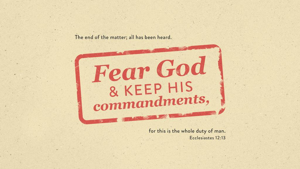 Ecclesiastes 12:13 large preview