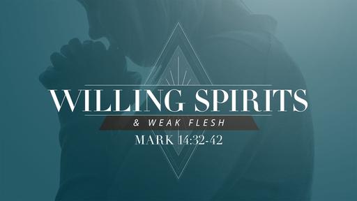 Willing Spirits and Weak Flesh
