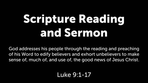 Luke 9:1-17: The Sufficient King