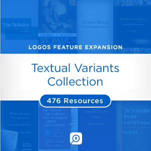 Textual Variants Collection (476 resources)