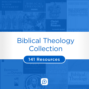 Biblical Theology Collection (141 resources)