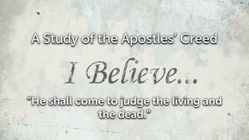 Wednesday, April 17 - PM - Jack Caron - The Apostles' Creed