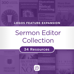 Sermon Editor Collection (34 resources)