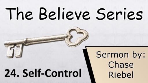 24. Self-Control