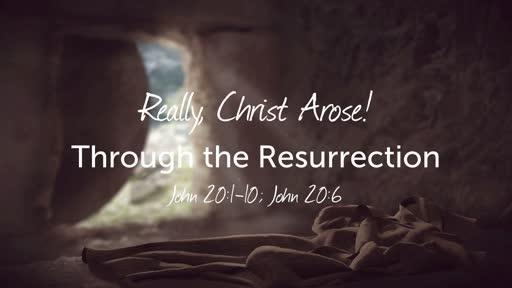Really, Christ Arose!