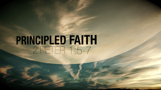 Principled Faith: An Abundance Of  A Heavenly Entrance