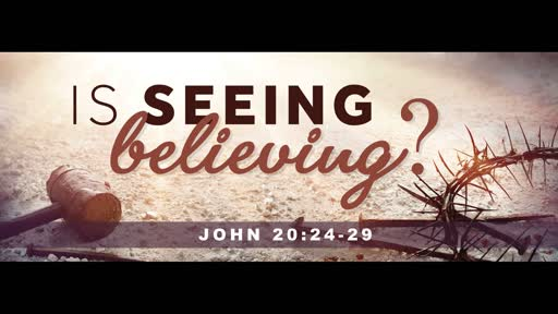 Is Seeing Believing?