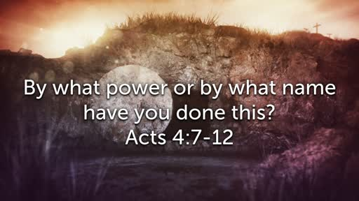 Sunday, April 21 - PM - Jack Caron - By what power or by what name have you done this?