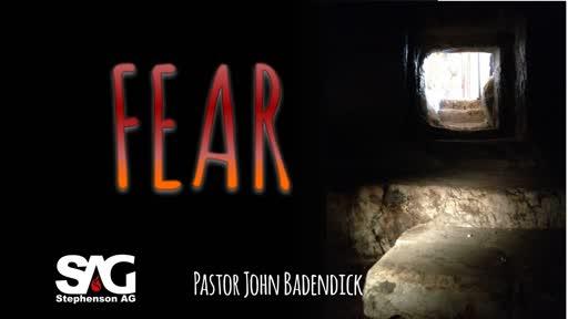 Resurection Sunday - Fear