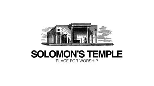 Solomon's Temple: Place for Worship