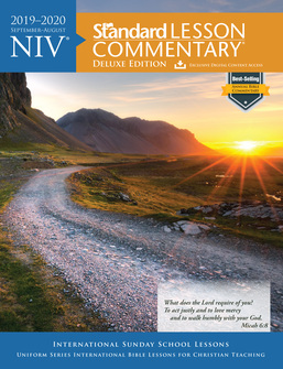 Best Study Bible 2020 NIV Standard Lesson Commentary, 2019–2020 | Bible Study at its