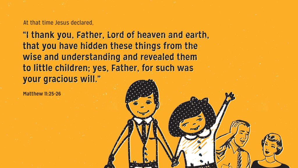 Matthew 11:25–26 large preview