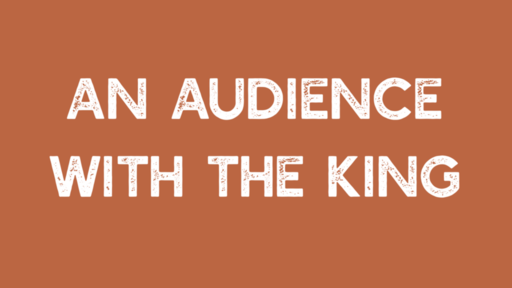 An Audience With The King