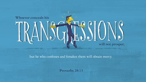 Proverbs 28:13 verse of the day image