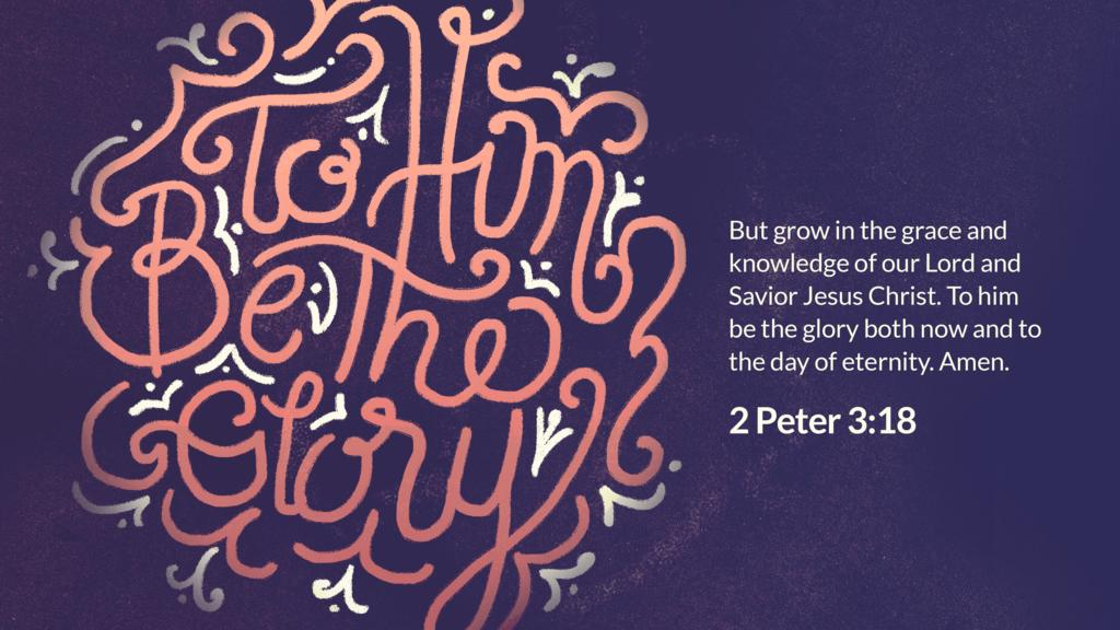 2 Peter 3:18 large preview