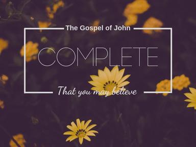 Complete: Desperate people need Jesus