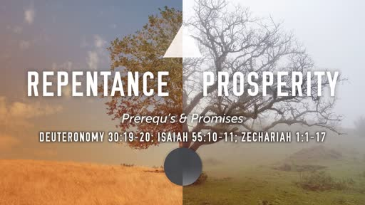Repentance & Prosperity