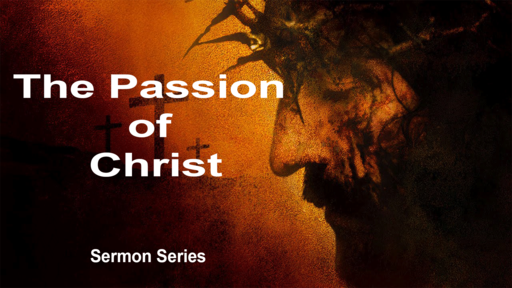 The Passion of Christ (PT 4)