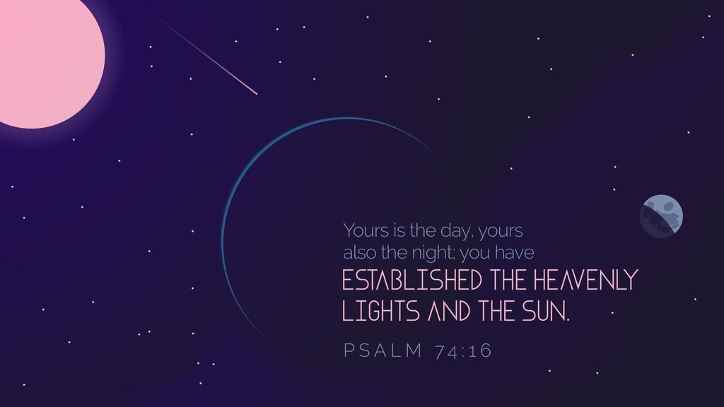 Psalm 74:16 large preview
