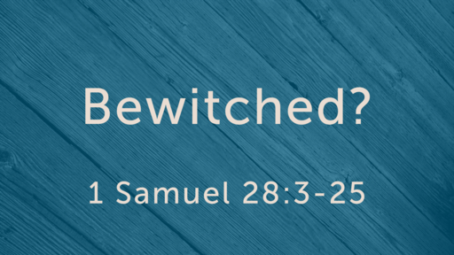 """""""Bewitched?"""" (Godfrey)"""