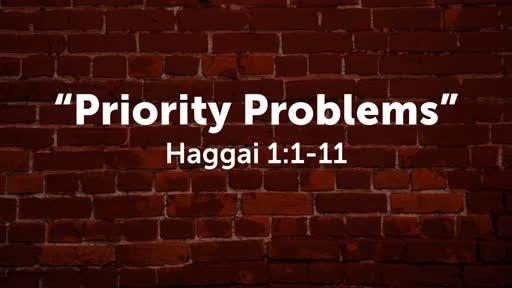 """Priority Problems"""