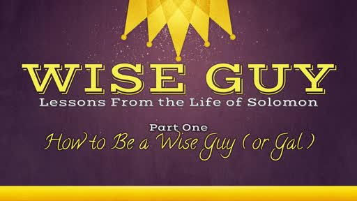 How to Be a Wise Guy (or Gal)