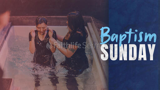Baptism Sunday Female