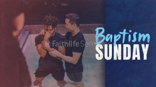 Baptism Sunday Male