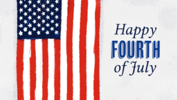 Happy Fourth of July  PowerPoint image 1