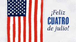 Happy Fourth of July ¡feliz cuatro de julio! 16x9 d9710d3d adb3 47f5 b8ef 97205a329699 PowerPoint image