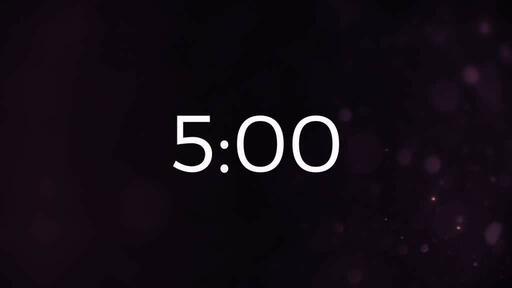 Volcano Dust - Countdown 5 min