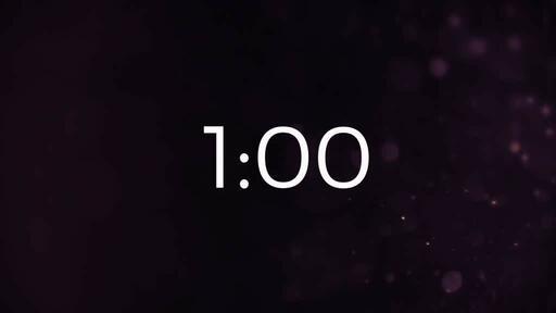 Volcano Dust - Countdown 1 min