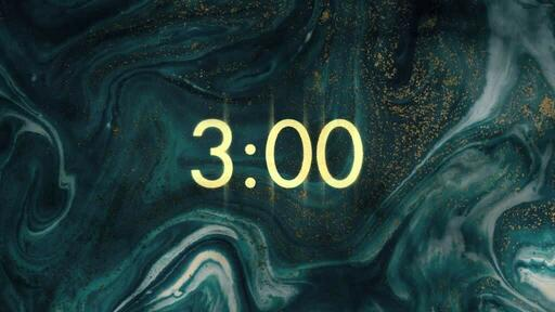 Gold Blue - Countdown 3 min
