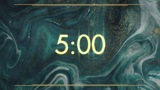 Gold Blue - Countdown 5 min
