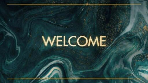 Gold Blue - Welcome