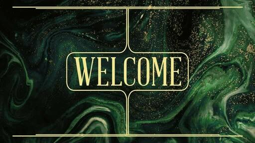 Gold Green - Welcome