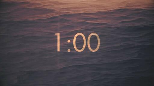 Sandy - Countdown 1 min