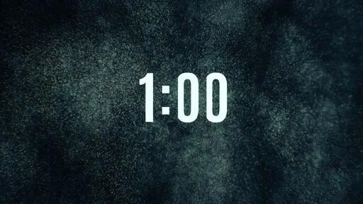 Space Mist - Countdown 1 min