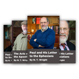 N.T. Wright Course Bundle (4 courses)