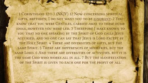 Discovering The Holy Spirit-Descubriendo El Espiritu Santo