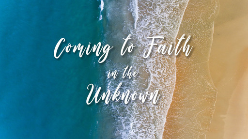 Coming to Faith in the Unknown: April 28