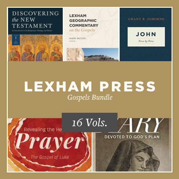Lexham Press Gospels Bundle (16 vols.)