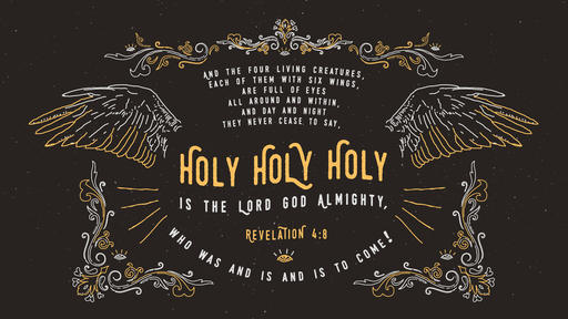 Revelation 4:8 verse of the day image