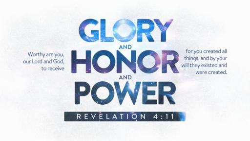 Revelation 4:11 verse of the day image