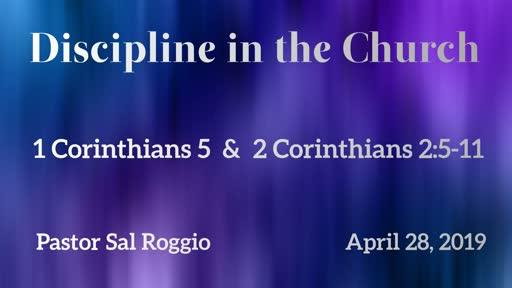 Discipline in the Church