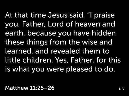 Baptism - Jesus is Life & Purpose