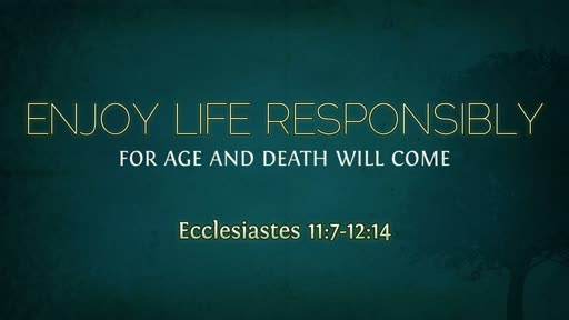 Enjoy Life Responsibly