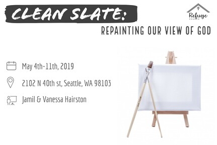 Clean slate: repainting our view of God