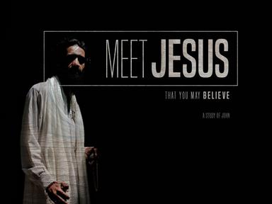 Meet Jesus: John 7:53-8:11
